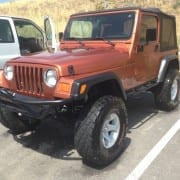 Jeep Wrangler Onsite Detail