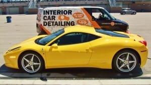 Onsite Detail Ferrari and Van