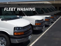 Onsite Fleet Washing