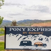pony express rv resort rv washing