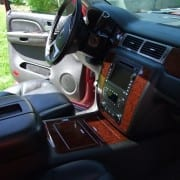 Interior detail suv utah