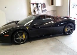 ceramic coating Ferrari