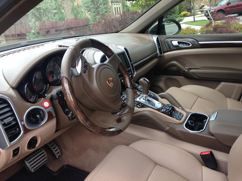 Utah Porsche Interior Detail