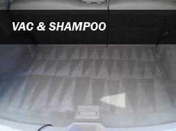 Vac and Shampoo Detailing Service