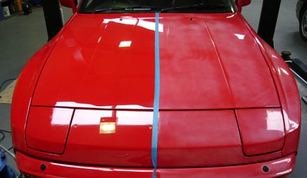 Clear Coat Paint For Car.Paint Oxidation And Clear Coat Failure Onsite Detail