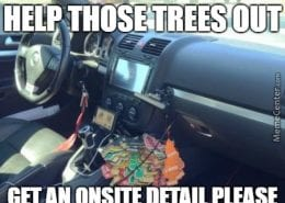 Help those air fresheners out