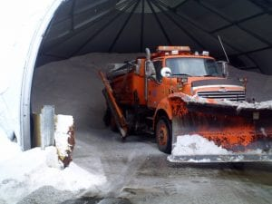 Road Salt Plow Truck Utah