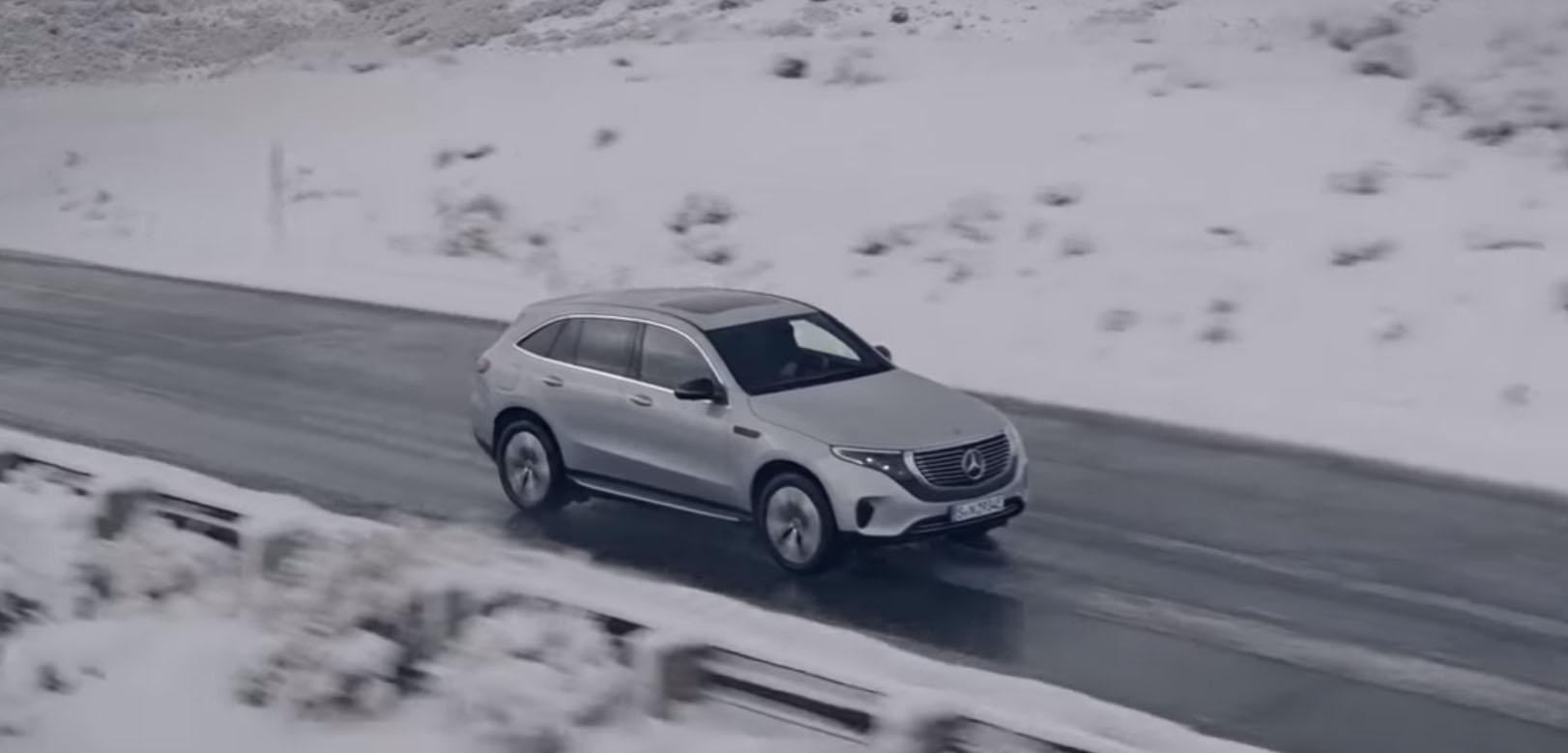 Commercial Shoot Detailing for Mercedes-Benz EQ
