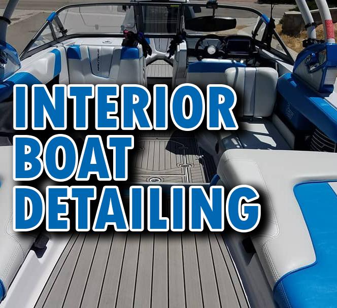 Interior Boat Detailing