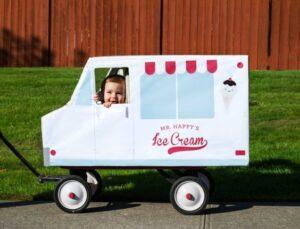 Ice Cream Truck Wagon