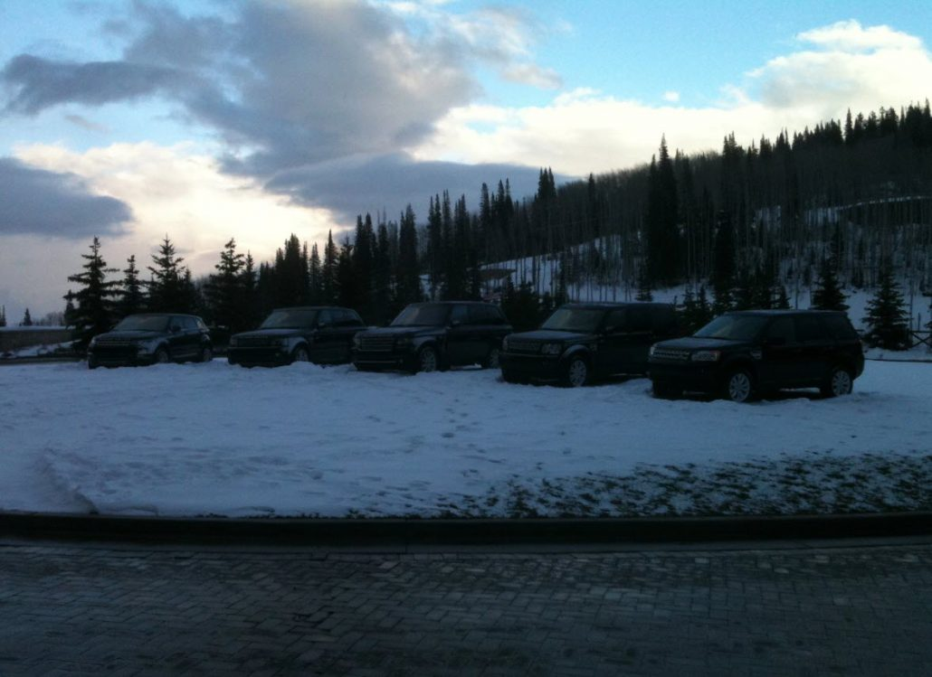 Land Rover Event - Mobile Car Detailing in Park City, Utah - Onsite Detail