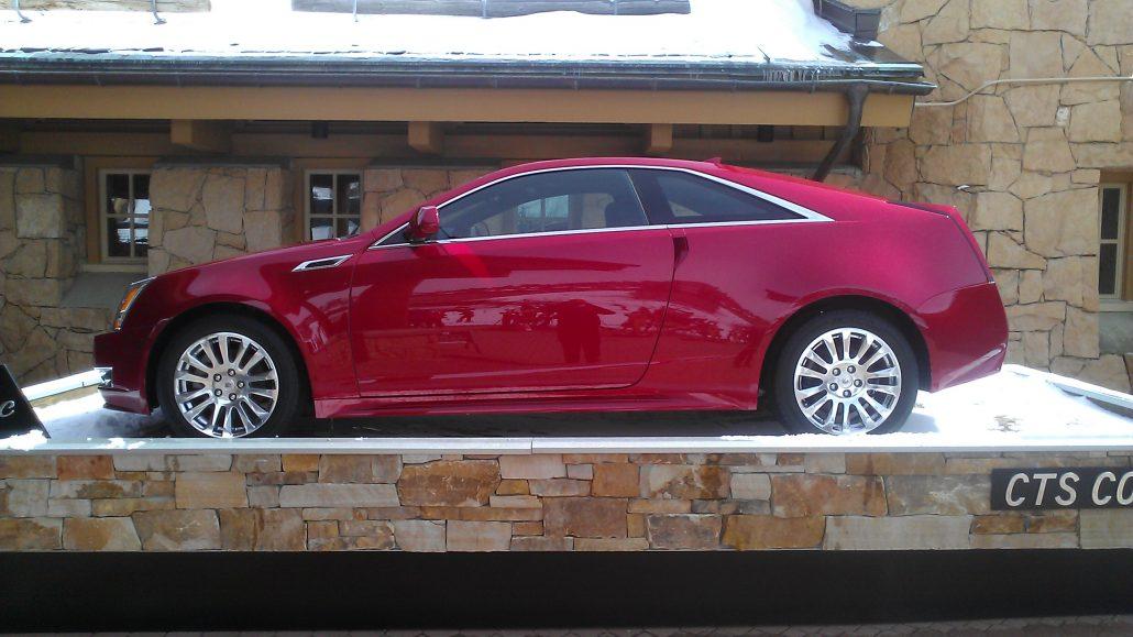 Cadillac Display Vehicle - Mobile Car Detailing in Park City, Utah - Onsite Detail
