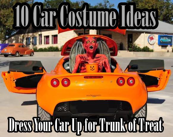 Ten Car Costumes