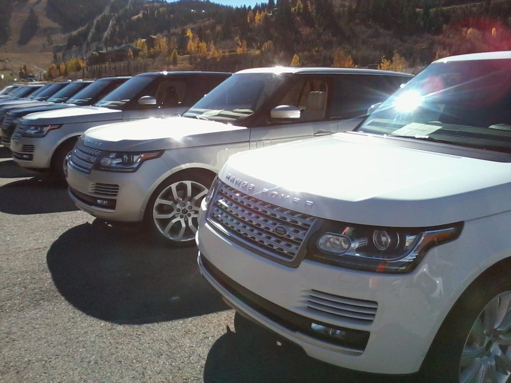 Land Rover Event - Mobile Car Detailing in Park City, Utah - Onsite Detail