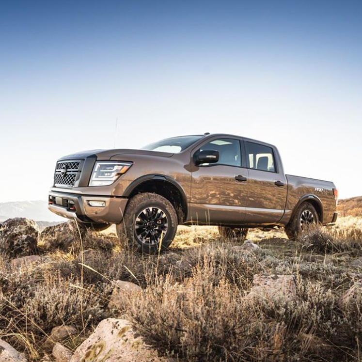 Event for the 2020 Nissan Titan